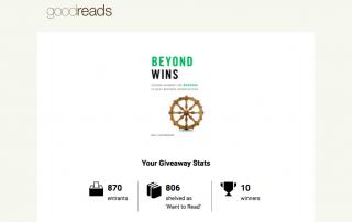 Beyond Wins on Goodreads