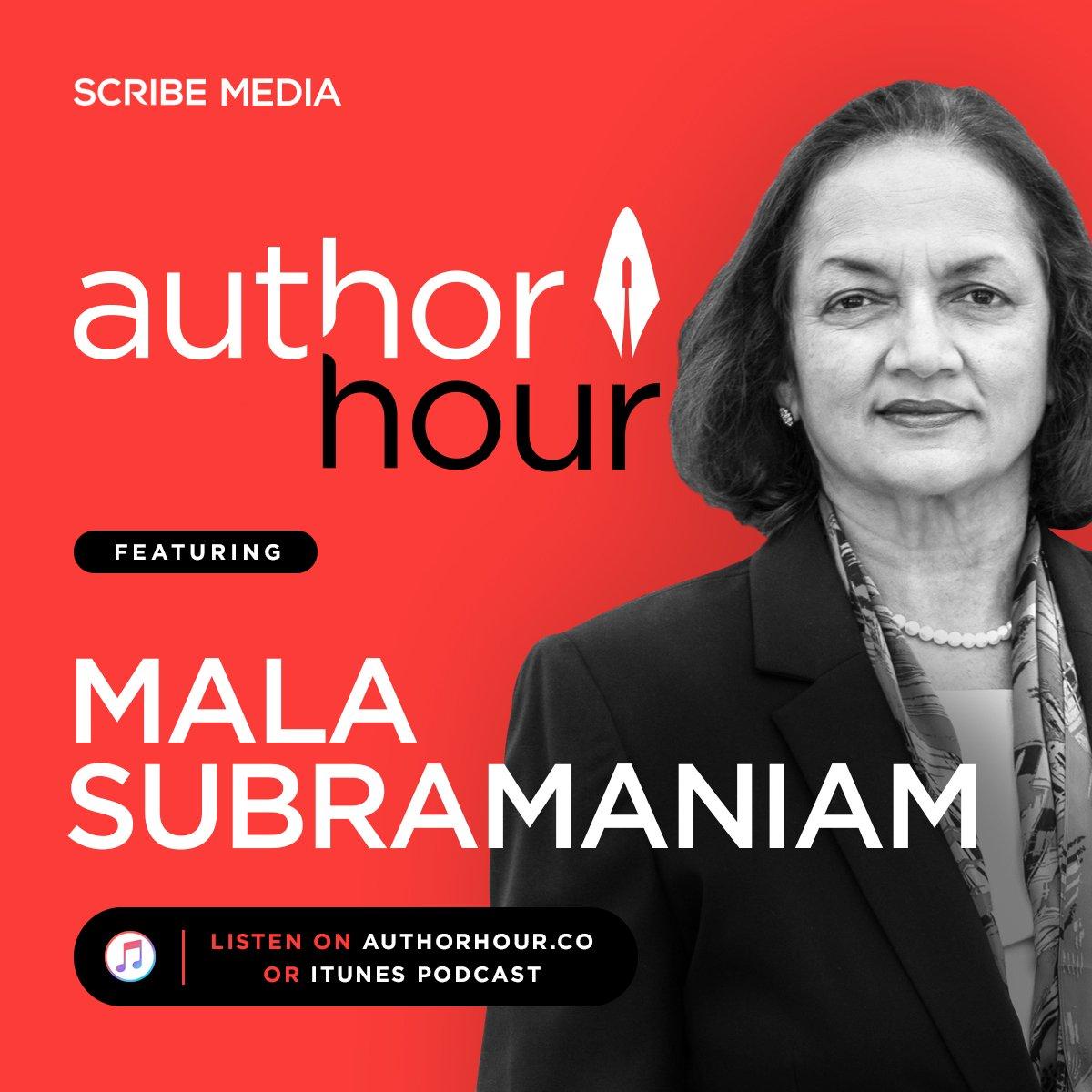 Mala Subramaniam interviewed on Author Hour