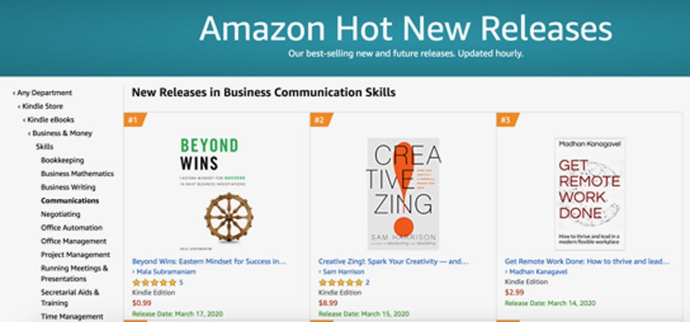 Amazon New Release in Business Communication Skills