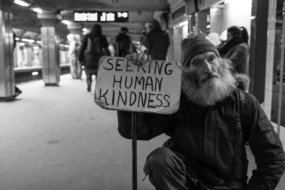 Seeking Human Kindness - Photo by Matt Collamer on Unsplash